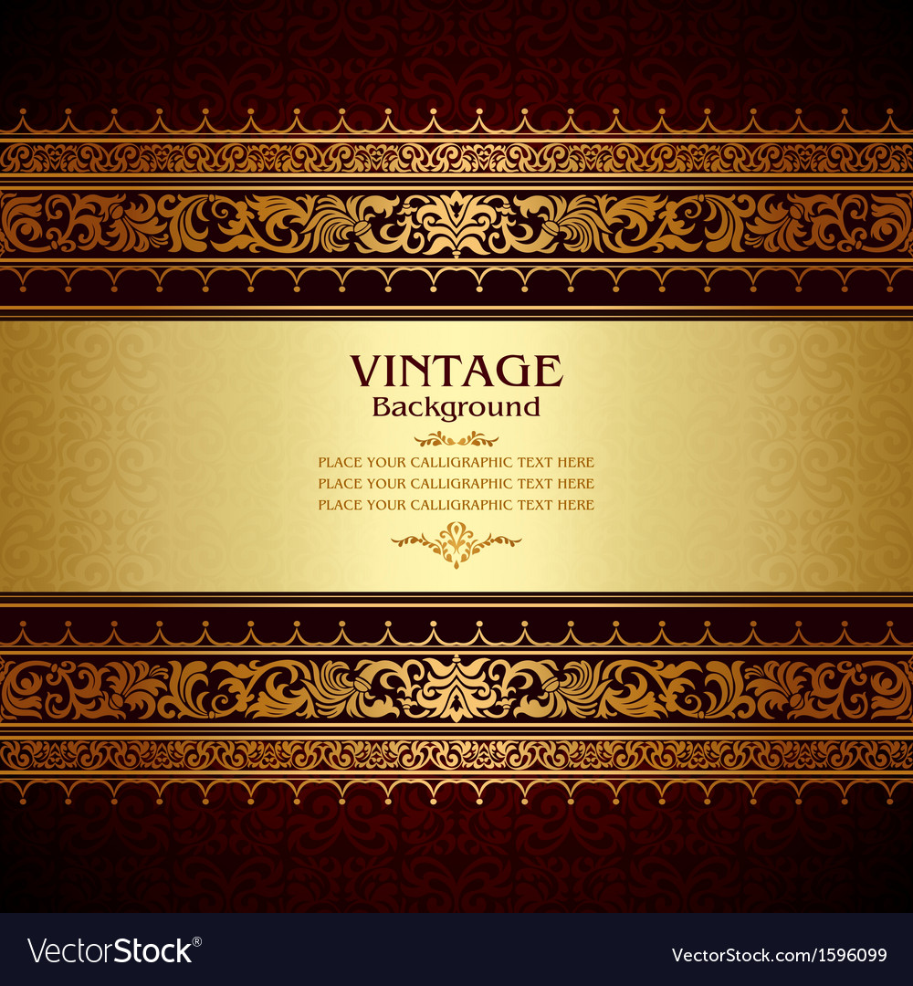 Royal vintage burgundy background vector | Price: 1 Credit (USD $1)