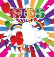 Kids 5 vector