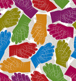 Fig fico hands seamless pattern background for vector