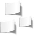 Blank tags vector