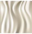 White silk fabric texture vector