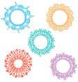 Set of doodle frames vector
