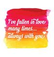 Valentines day postertypography love quote vector