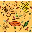 2 autumn pattern vector