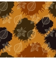 Autumn seamless patternabstract leaf vector
