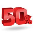 50 percent digits vector