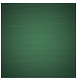 Blank green chalkboard background vector