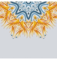 Part of a bright mandala ornament with place for vector