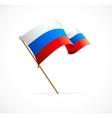 Russia flag vector
