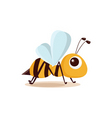 Bee isolated vector