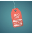 Discount price tag vector