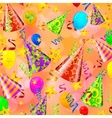 Party decorations background vector