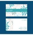 Blue and gray plants horizontal stripe frame vector