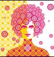 Sixties woman vector
