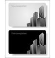 Abstract corporate city buildings vector