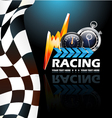Racing poster vector