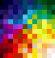 Colorful pixels vector