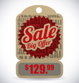 Commerce tag design vector