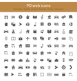 Icons collection vector