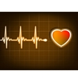 Heart beat vector
