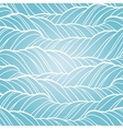 Seamless wave abstract hand drawn pattern vector