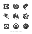 Abstract shapes collection vector