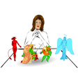 Choice of health nutrition vector