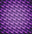 Abstract geometric violet cubic background vector
