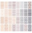 Set of 24 patterns vector
