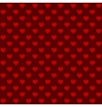 Seamless retro style pattern with hearts vector