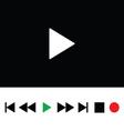Play icon color vector