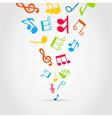 Music wind vector