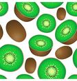 Seamless texture of kiwi vector