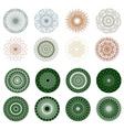 Pattern rosette guilloche for document eps 8 vector