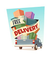 Free delivery vector