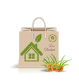 Eco product eco packing vector