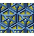 3d lattice seamless pattern vector