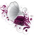 Gramophone phonograph vector