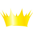 Royal crown isolated on white background vector