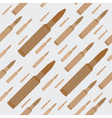 Gun bullets seamless background vector