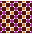 Seamless flower background vector