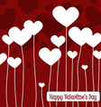Happy valentines day cards with hearts1 vector
