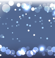 Sparkling blue background vector
