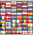 Elements of design icons flags of the countries of vector