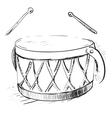 Music drum vector