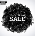 Pencil black friday sale vector