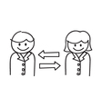 Business communication vector
