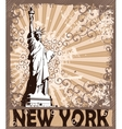 Statue of liberty - symbol of new york city vector