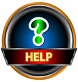 Help icon vector