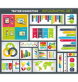 Collection of quality infographics design vector